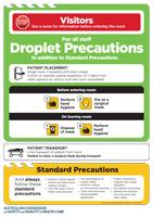 Transmission Based Precautions - Droplet Precautions