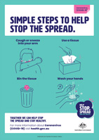 Steps to stop the spread