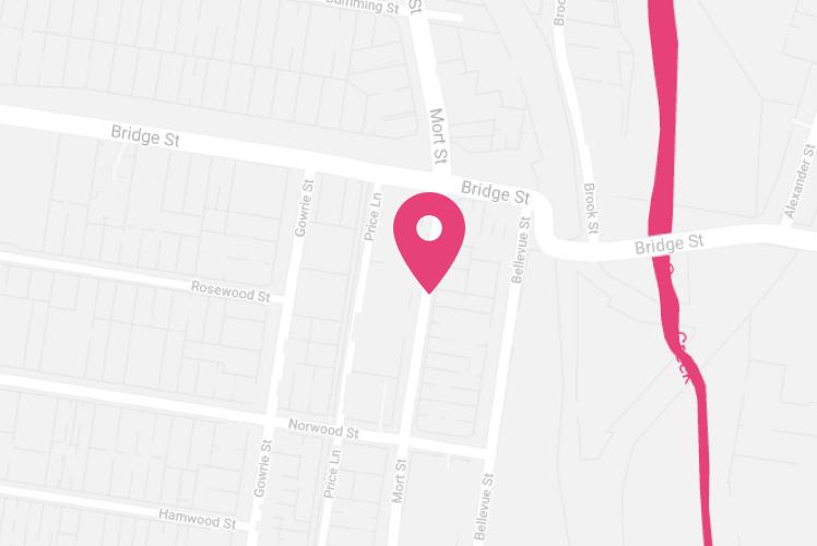 Map of Toowoomba McDonald Group Location